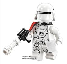 Single Sale STAR WAR Rogue One SNOW TROOPER Officer Trooper Storm DIY Building Blocks SUPER HEROES minifig Toys Gift(China)