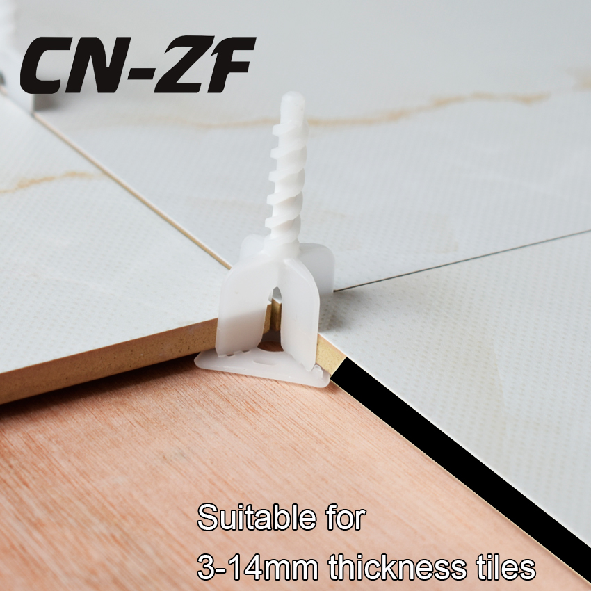 Cn Zf Tile Leveling System 15mm 50 Straps Cross Spacers Clamps