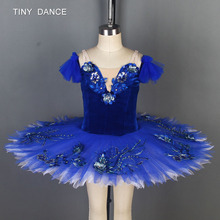 eb592bbd3 Blue Bird Ballet Pancake Tutu for Girls Stage Performance or Competition  Ballerina Dress Pre-Professional