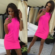 Neon Mini Summer Dress