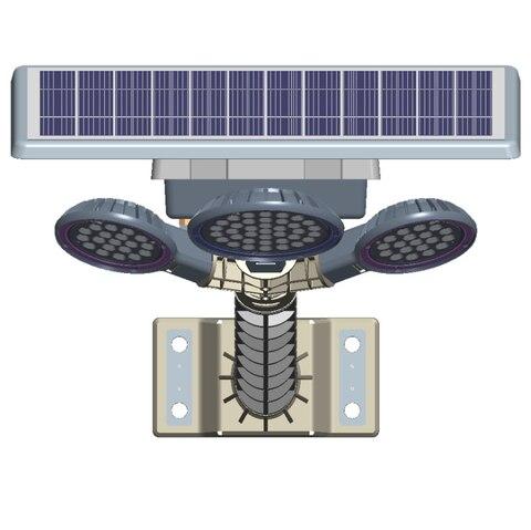 cronometragem novo rural inducao luz de rua solar do jardim
