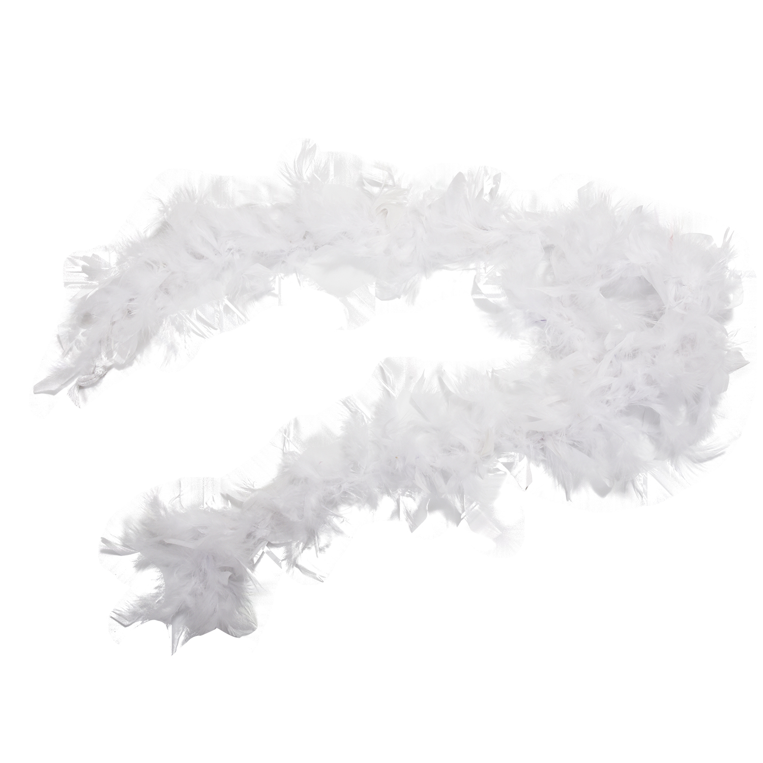 AASS White Feather Boa Fluffy Craft Decoration 6.6 Feet Long