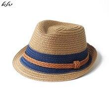 купить Baby Hat Fashion Straw Cap For Boys Girls Children Breathable Hat Show Kids Hat Beach Caps Summer Sun Hats дешево