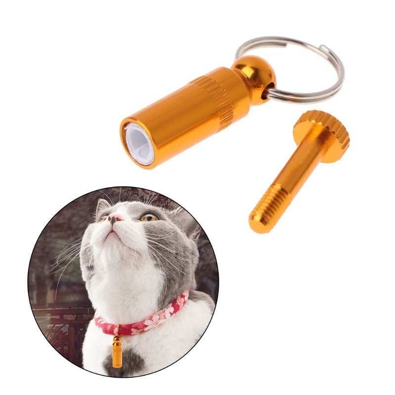 Pet Personalized Dogs Puppy Cat Collar Anti Lost Metal Identification Phone Tag