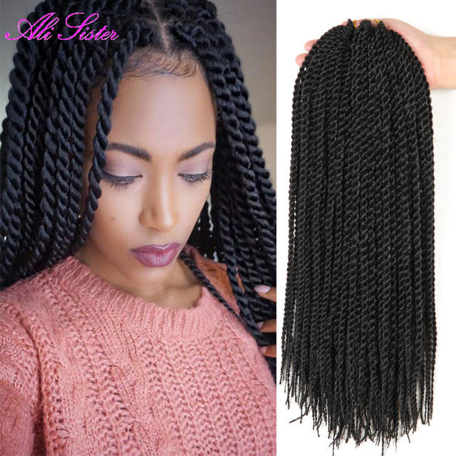 22 Senegalese Twist Hair Thin And Long Havana Mambo Twist Crochet