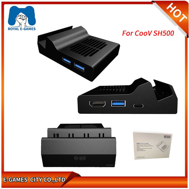 For COOV SH500 Type C to HDMI Replacement Dock Mount USB ...