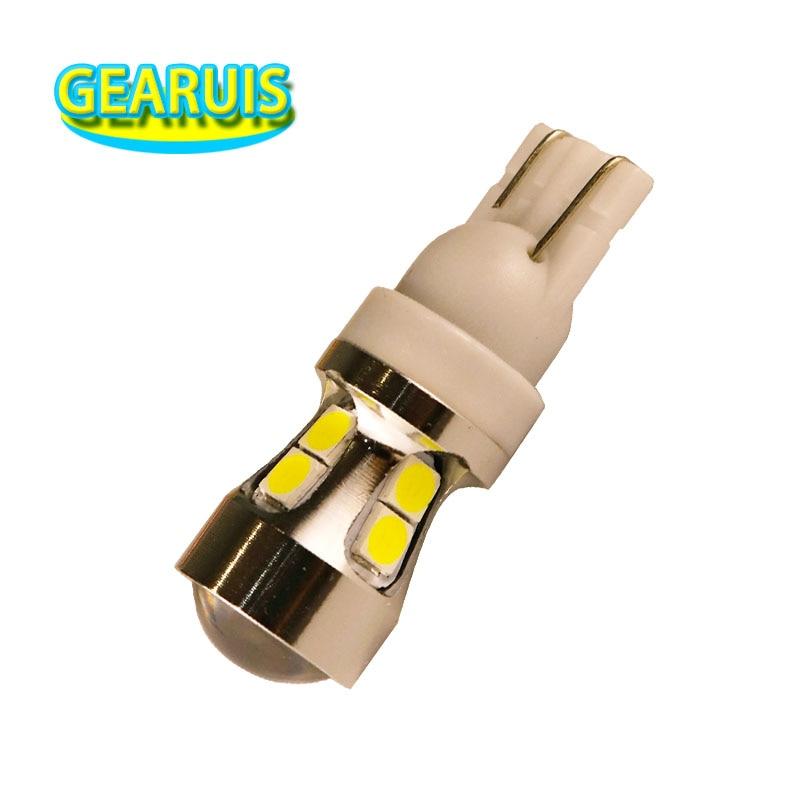 2 шт., Неполярные светодиодные лампы T10 Canbus 3030 10 SMD 194 A 34*11 мм
