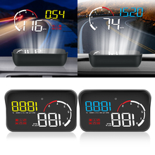 Multifunktions Auto Windschutzscheibe Projektor OBD2 Display Intelligente Alarm System Überdrehzahl Warnung Auto Hud Display M10 A10 Universal