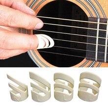 1 PCS Guitar Ring Fingertip Sets Guitar Accessories Guitar Picks Folk Music Pick Plectrum Guitar Finger Style Protect Fingers M
