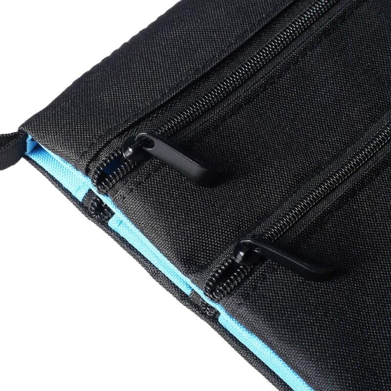 Travel Neck Pouch Cards Holder 2 Side Adjustable Lanyard Hidden Wallet