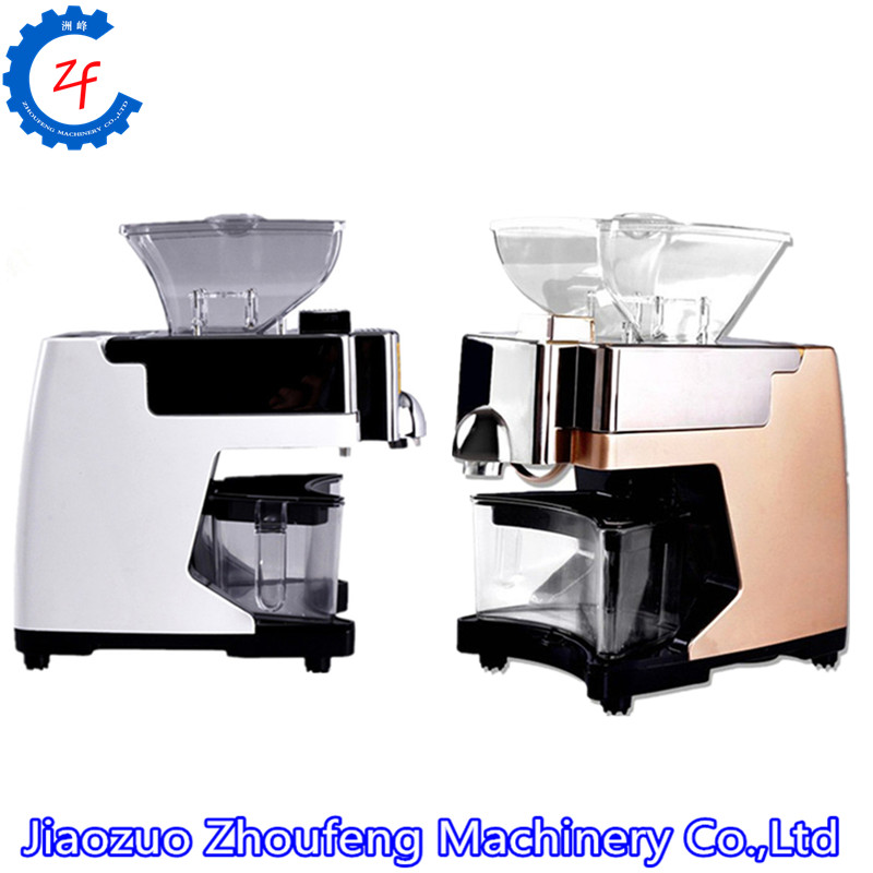 110V/220V Mini ABS olive kernel oil making machine stainless steel screw press automatic small oil mill expeller extractor automatic nut seeds oil expeller cold hot press machine oil extractor dispenser 350w canola oil press machine