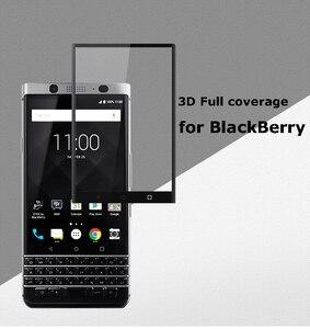 Image 2 - ShuiCaoRen Per Blackberry Keyone Vetro Temperato 9 H 3D Full Copertura Dello Schermo a prova di Esplosione Pellicola Della Protezione Dello Schermo Per KEYone