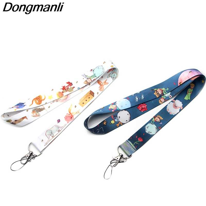 P3459 Dongmanli Le Petit Prince Lanyard Badge ID Lanyards/ Mobile Phone Rope/ Key Lanyard Neck Straps Accessories