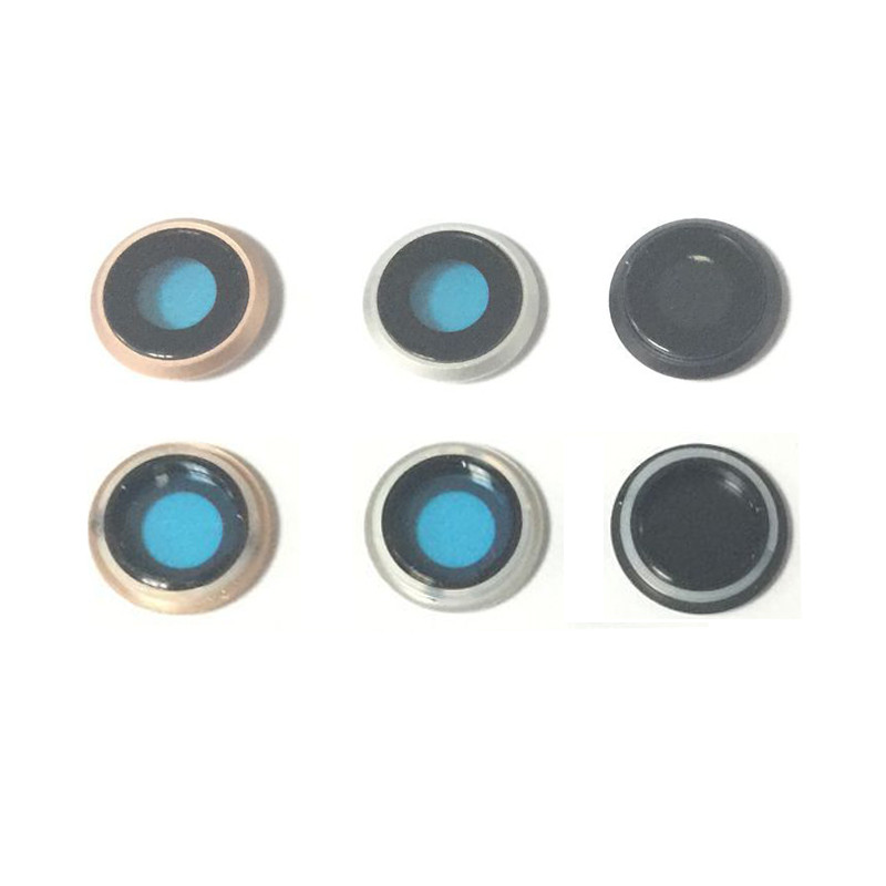 100% New High Quality Rear Back Camera Lens Ring Bezel Cover For iPhone 8 Replacement Parts