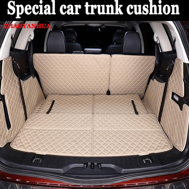 Custom Fit Car Trunk Mat For Ford Edge Escape Kuga Fusion Mondeo Ecosport Explorer Focus Fiesta
