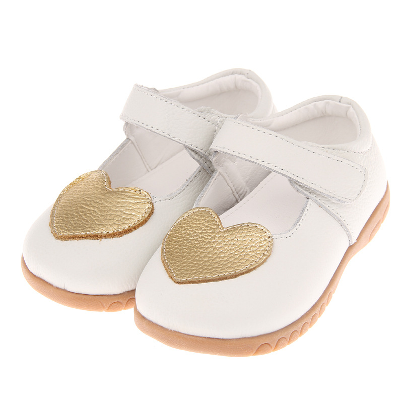 Casual Leather Shoes for Children Girls Shoes Fashion Princess Slip-on Children Sneaker Leather Shoes for Girls Shoe Size 22-28
