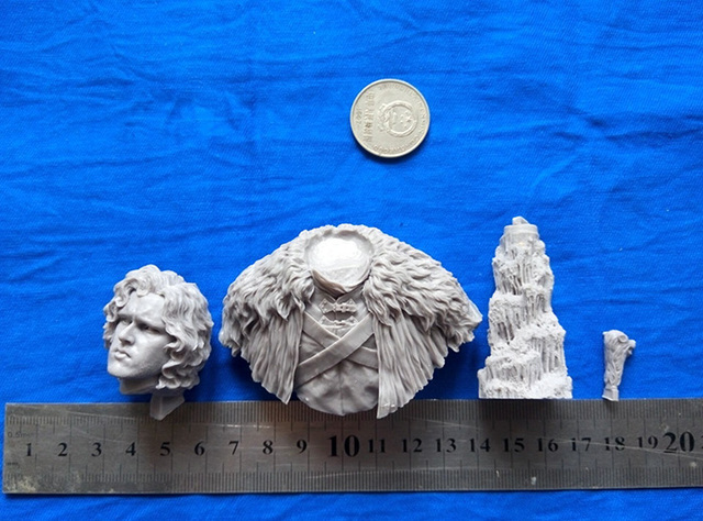 1/10 Scale Models ancient man bust  Resin Bust Model Free Shipping 2