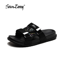 Men's Slides Soft Light Men Slippers Home Outdoor Beach Summer EVA Rubble Slide Slipper 2019 Fashion Indoor Shoes Big Size 47 48 2