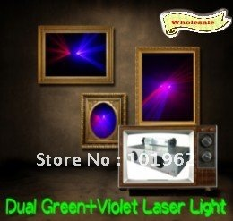 100 mW הכחול ויולט + 100 mW אדום אור לייזר DMX מועדון המפלגה DJ דיסקו שלב הדלקת-בתאורה מקצועית מתוך פנסים ותאורה באתר Casa Electronic Co., Ltd.---Wholesale