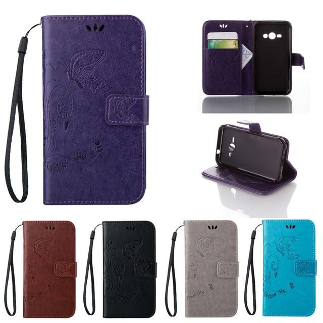 for Samsung Galaxy J1 J 1 Ace J110h J111m J111f SM-J111f SM-J110h SM-J111m Leather Case Flip Phone Cover For J1Ace J110 SM-J110