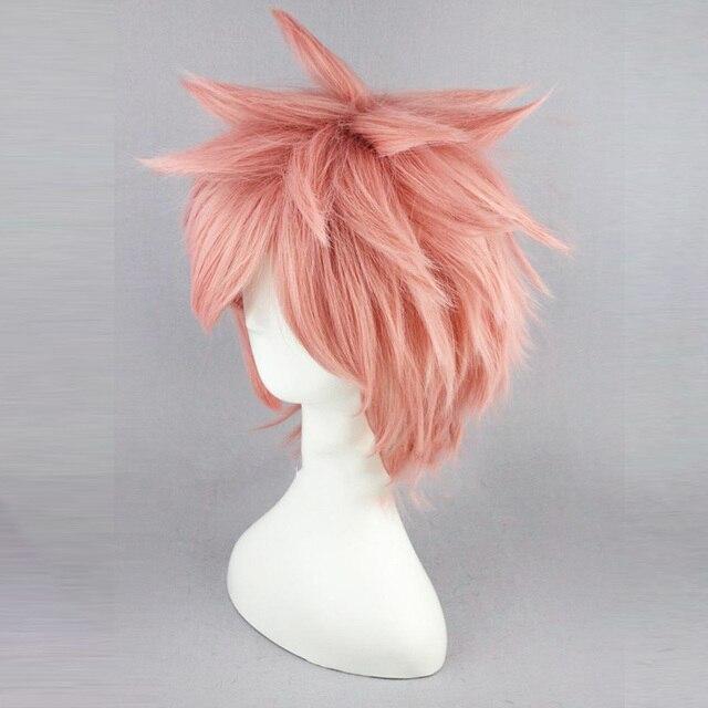 Peluca de Natsu Dragneel de Fairy Tail Cosplay Fairy Tail