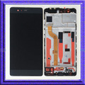 Black LCD Display Touch Digitizer Glass Assembly + Frame For Huawei P9 Standard EVA-L09