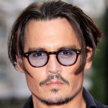 Pirates of the Caribbean Johnny Depp Glasses Vintage Sunglasses Men Luxury Brand Tinted