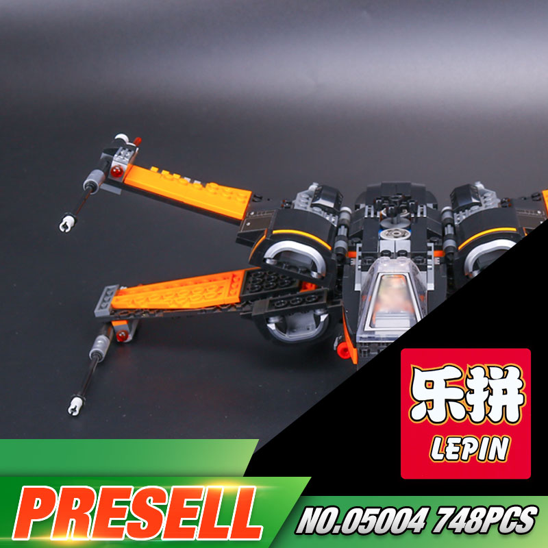 New LEPIN 05004 Star Series War The First Order X Model Wing Fighter 79102 Building Blocks Compatible with Educational Toy