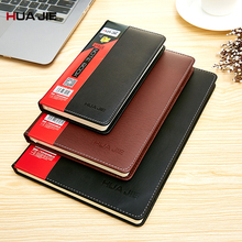 School Office Stationery Supplies Plan Diary Notebook Business Copybook 18K/25K/48K Leather Notepad Drawing Painting Gift PC0002 48k leather notebook notepad business planner notebook diary journal note book for office school stationery supplies gifts