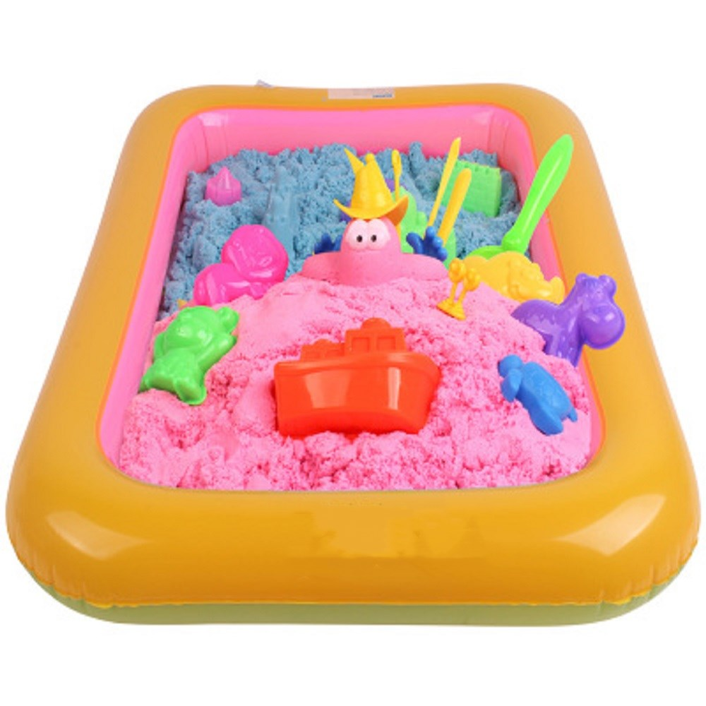 42*28cm Inflatable Sand Tray Plastic Table Baby  Indoor Playing Sand