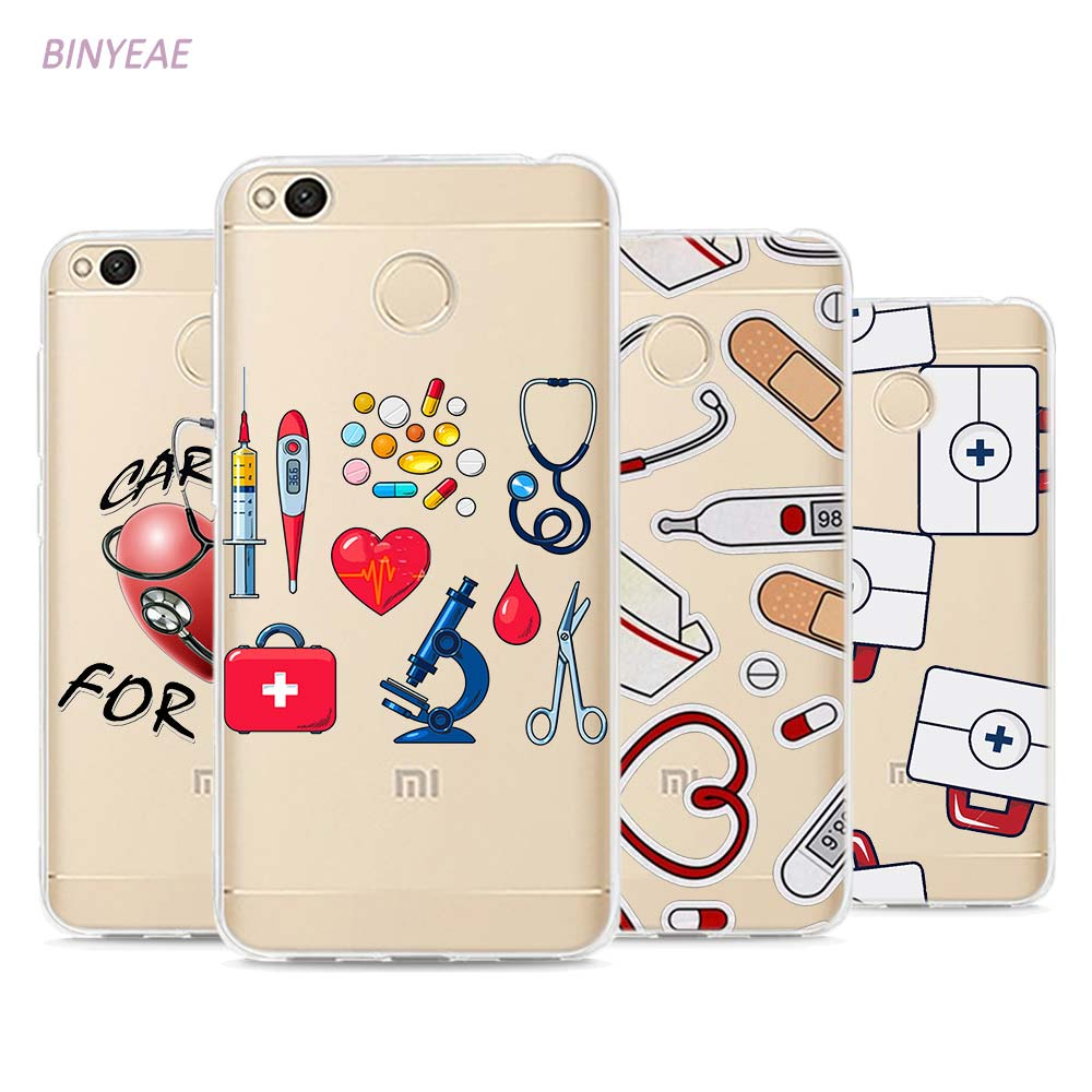 Cellphones & Telecommunications 022fg Cartoon Medicine Nurse Doctor Dentist Soft Silicone Tpu Cover Phone Case For Xiaomi Redmi Mi 8 A1 A2 Lite At Any Cost Half-wrapped Case