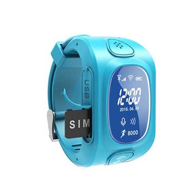 Rastreador Gps Inteligente Seguro Garoto Relógio de Pulso GSM Localizador De Emergência SOS Agps LBS Localizador Para O Miúdo Criança Anti-Lost Monitor de Pedômetro