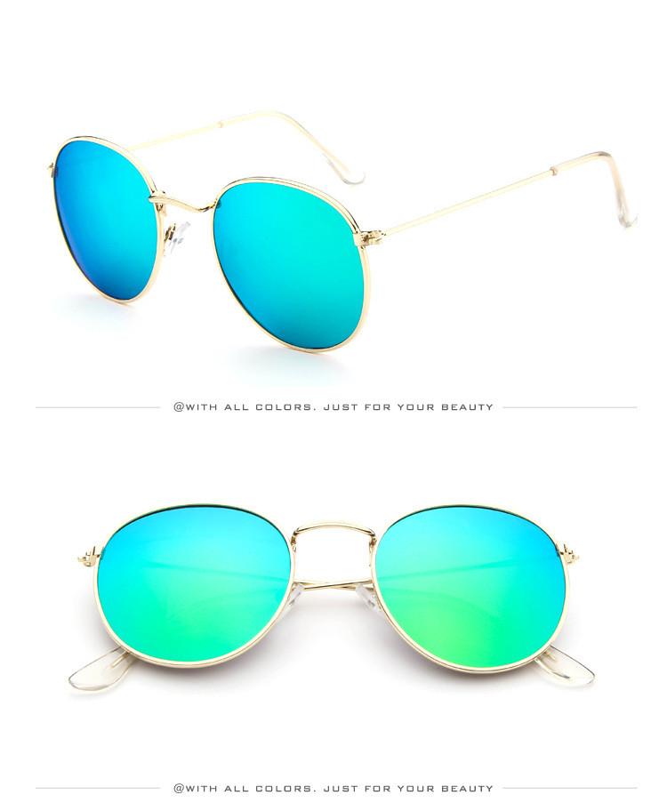 DJXFZLO Retro gafas de sol ovaladas vintage 17