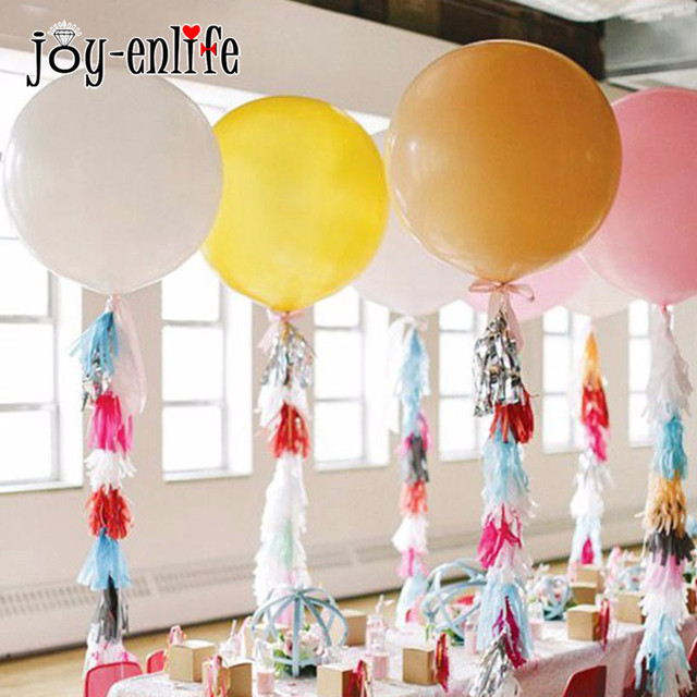 JOY ENLIFE 10pcs Wedding Decoration Tissue Paper Tassels Garland