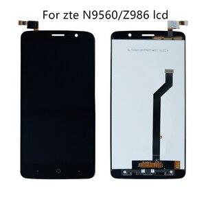 Image 1 - Für ZTE Max XL n9560 LTE z986 touchscreen digitizer glas LCD display handy montage display panel ersatz