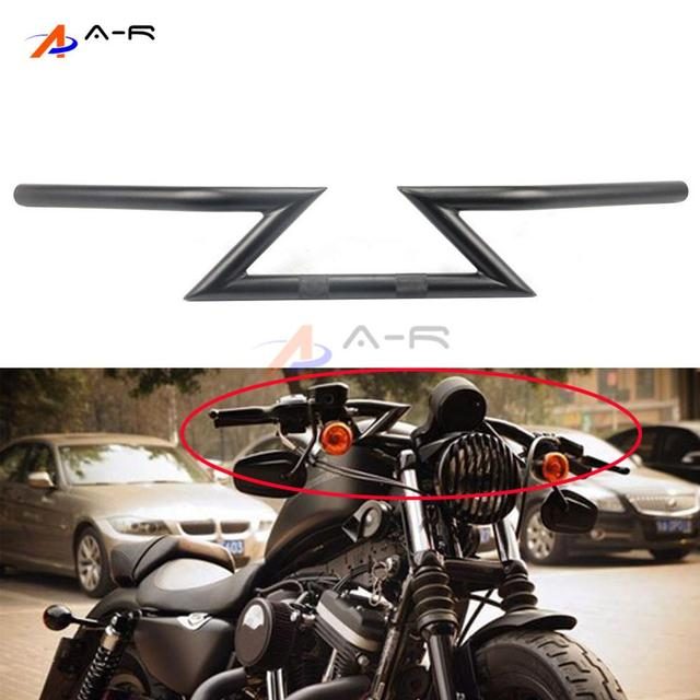 25MM Drag Bars HandleBar Handle Tubes For Harley Sportster XL 883 1200 48 72 Roadster Nightster