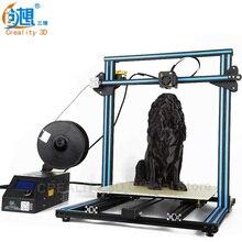 Горячая CREALITY 3D Комплект Принтера CR-10 3d печать Экструзии Алюминия Большой Размер Печати 500*500*500 мм Нити карты ЖК-Дисплей