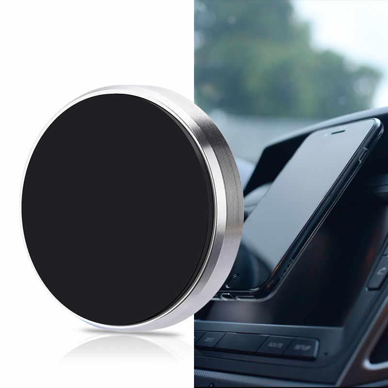Универсальный мини Магнитная автомобильный держатель телефона для iPhone X 8 7 6 6s плюс магнит держатель Dashboad Кронштейн мобильный телефон подставка держатель <