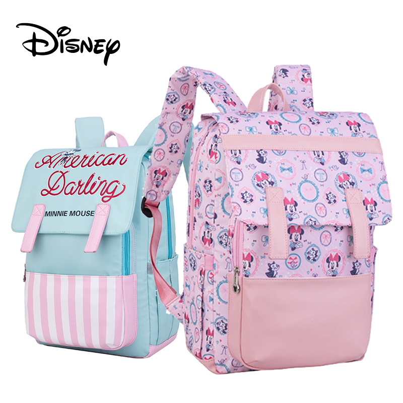 Disney Diaper Bag Backpack Baby Bag Maternity Minnie Mickey Large Capacity Travel Oxford Feeding Baby Mummy Handbags Pre design-in Diaper Bags from Mother & Kids    1