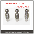 10pcs Stainless Steel 3D V6 Heat Break Hotend Throat for 1.75 mm 3.00mm Filament 3d Printer Free Shipping !