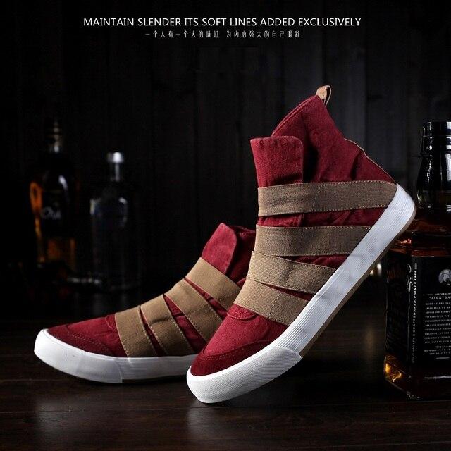 2016 New Trend Men's Canvas Shoes Men Casual Shoes Spring Autumn Man's Shoes Zapatillas Hombre Slip-On Size 39-44