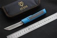VESPA Рыхлителя лучший карманный нож Танто M390 блейд 7075 Алюминий + CF Ручка Ножи для выживания Открытый тактический EDC инструменты охотничий нож