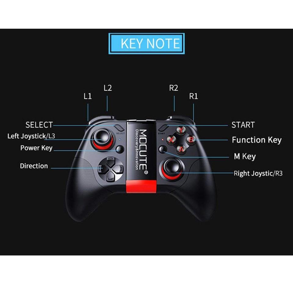 Mocute 054 Bluetooth Gamepad Mobile Joypad Android Joystick Wireless