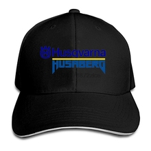 ddd81e29e88 Husqvarna Logo Print Baseball Cap Fashion Unisex Golf Cap Summer Mesh Cap  Adjustable Cap(China