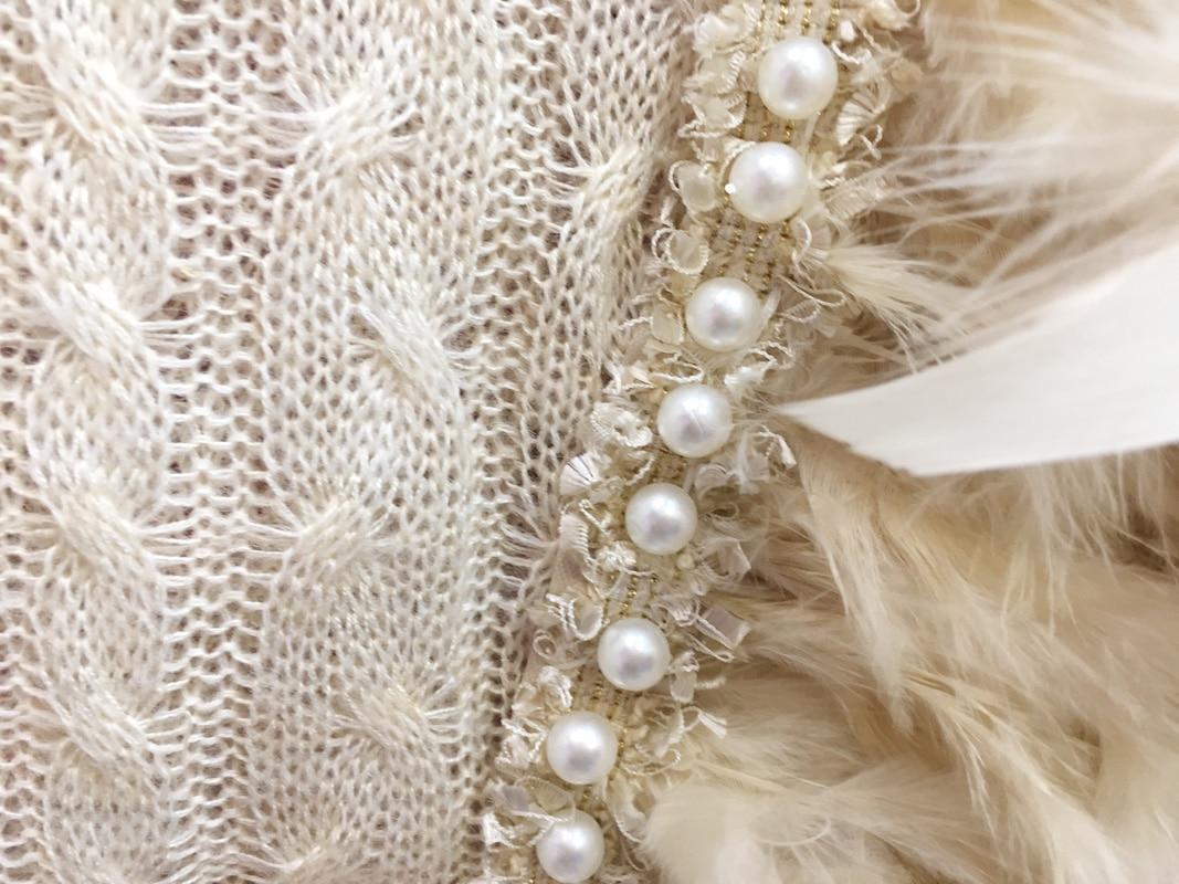 Ancre Femme Perlée Chandail Plume blanc Mince Réseau 2018 Beige Pulls Nouvelles Promotion De Femmes Chandails Doux Poncho Pull Et w7gZvW