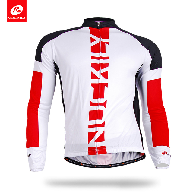 NUCKILY Summer Quick dry Bicycle Clothing Polyester Road Bike Cycling Jersey  for Men CJ136 c02be2902