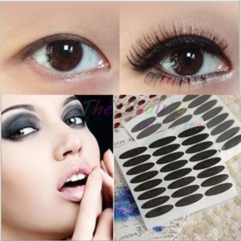 72pair Black Eye Liner Stripe Make Up Eye Sticker Double Eyelid Tape