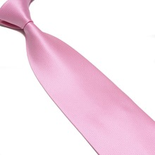 solid plaid polyester men's neck tie 15colors