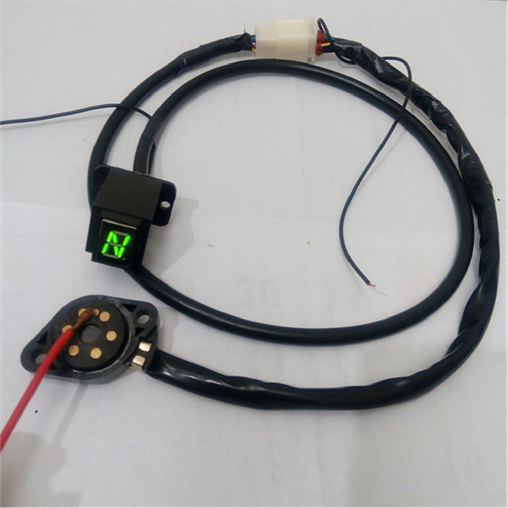 free shipping LED gear display suite gear indicator gear position sensor kit accessories for Benelli Bn302 BN300