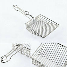 Новые металлические котенок средство для чистки от песка совок для кошачьего наполнителя инструменты для чистки домашних животных лопатка для песка